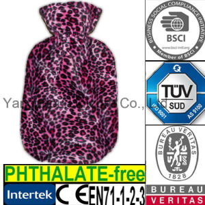 CE Leopard Hot Water Bottle Cover