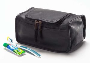 PU Leather Travel Cosmetic Toiletry Bag for Man (LTB-1419-1) pictures & photos