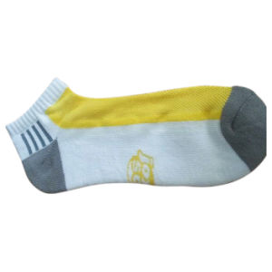 Ankle Fashion Sport Socks with Color Mesh for Men (cm-01) pictures & photos