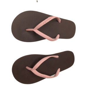 High Quality Colorful Rubber Flip Flops pictures & photos