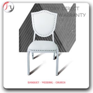Nailing Unique Hotel White Stacking Hall Chair (BC-57) pictures & photos