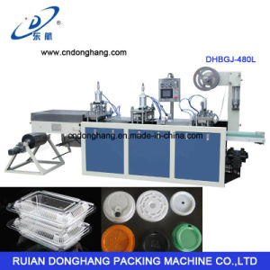 Disposable Lid and Tray Thermoforming Machine pictures & photos