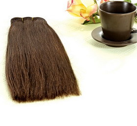 Hair Weft/ Weaving, Machine /Hand Tied Weft (MTL-HAIR-0135)