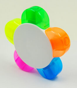 Fluorescent Highlighter Marker in Flower pictures & photos