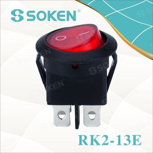 4 Pins Round Rocker Switches/3 Position Switch 16A 250V pictures & photos