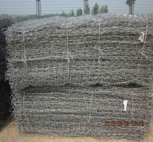 Galvanized Gabion Box/ PVC Stone Gabion Box (XM-G22) pictures & photos