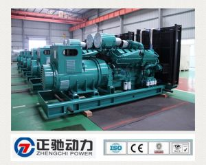 Soundproof Powerful Diesel Generator Set with Electronic Governing