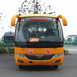 Chinese Safe School Bus with 26 Seats pictures & photos