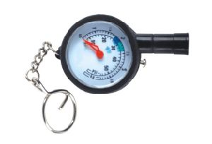 Promotional Mini Dial Gauge with Keychain pictures & photos