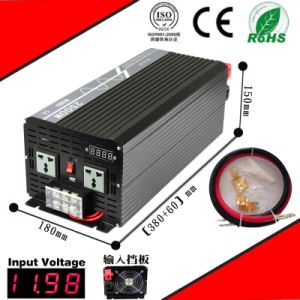 2500W DC-AC Inverter 12VDC or 24VDC 48VDC to 110VAC or 220VAC Pure Sine Wave Inverter pictures & photos