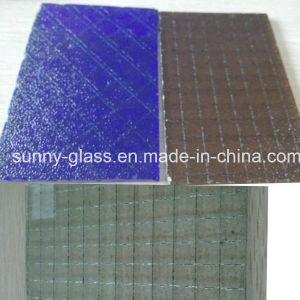 6mm 6.5mm Dark Blue Bronze Wired /Wire Glass pictures & photos