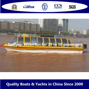 Bestyear Waterbus for 29 to 50 Passengers pictures & photos