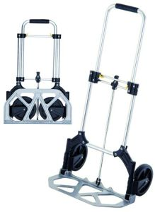 Aluminum Luggage Trolley Cart pictures & photos