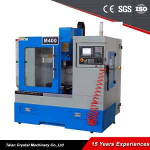 Small Mini Metal Vertical CNC Milling Machine M400 pictures & photos