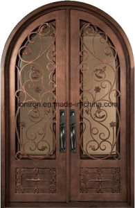 Wholesale Wrought Iron Door for Villa Custom Design pictures & photos