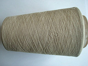 Linen Cotton Blenched Yarn -Ne30/1 pictures & photos