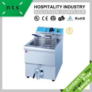 Electric 1 Tank Fryer (1 Basket, Counter Top) pictures & photos