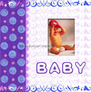 "Paper Cover 6""X6"" Baby Scrapbook Album with Window pictures & photos"
