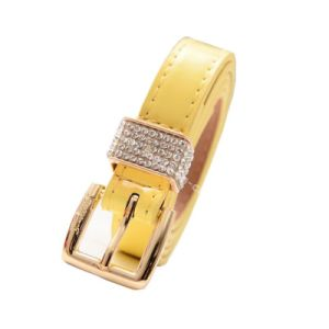 Hot Sale Fashion Rhinestone Buckle Lady Belts pictures & photos