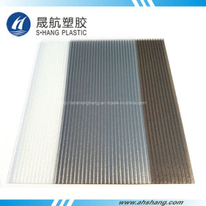 Frosted Clear and Bronze Polycarbonate PC Hollow Sheet pictures & photos
