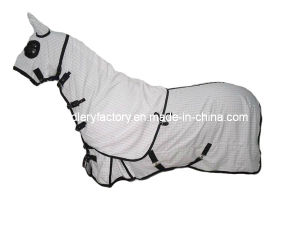 Summer Style Ripstop Hood Set Horse Blanket (SMR3241C) pictures & photos