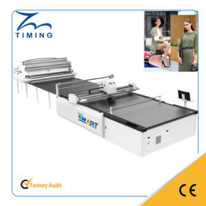 Textiles Fabric Cutting Machine Sleeping Bag Fabric Cutting Machine pictures & photos