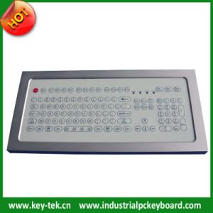 IP68 Waterproof Hygiene Keyboard with Numeric Keypad (K-TEK-D321KP-FN-DT)