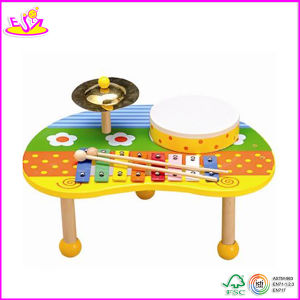2014 New Wooden Musical Instrument Toy, Popular Wooden Musical Instrument and Hot Sale Colorful Musical Instrument Set W07A054 pictures & photos
