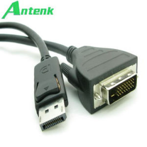 Displayport/M to DVI/M Cable 20 Pin DVI Cable pictures & photos