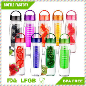 Plastic Fruit Water Bottle with Infusion pictures & photos
