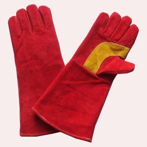 14′′ Cow Split Leather Welding Gloves (GCW200S)