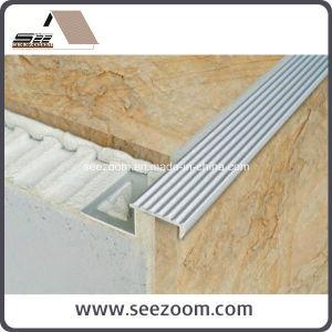 High Quality Straight Edge Aluminum Ceramic Stair Nosing