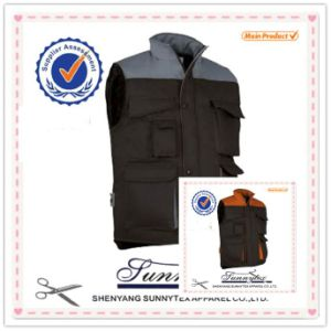 OEM New Style Padding Vest with Multi Pockets pictures & photos