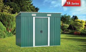 Convenient Light Steel Structuer Garden Shed pictures & photos