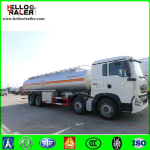Sinotruk HOWO Heavy Duty 8X4 Oil Fuel Tank Truck pictures & photos