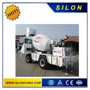 Concrete 1.7m3 Mini Self Loading Concrete Mixer Truck with Front Loading Shovel (SL1.7R) pictures & photos