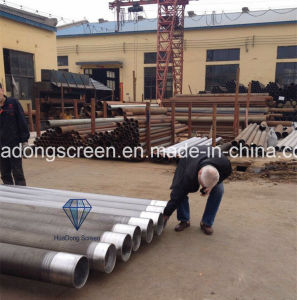 18/25/50mesh Wedge Wire Stainer Used in Water Treatment Equipment pictures & photos