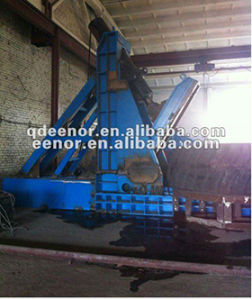 Waste Big Tyre Cutting Machine for Tyre Recycling pictures & photos