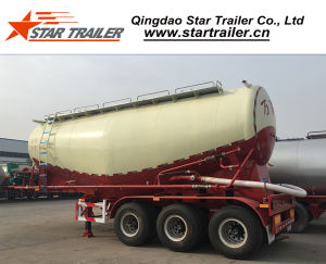 48 Cbm 3 Axles Cement Tanker Semi-Trailer pictures & photos