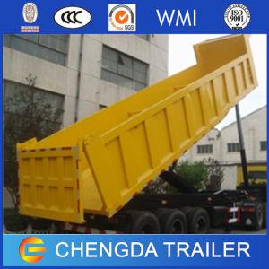 Rear Type Damper Tipper Dumper Self Dump Truck Semi Trailer pictures & photos