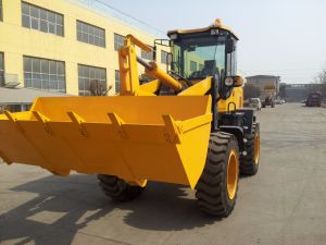 2 Tons Log Clamp Wheel Loader pictures & photos