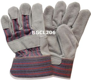 Deluxe Cow Leather Work Gloves