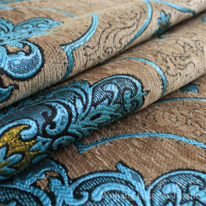 Jacquard Chenille Polyester Fabric for Corner Sofa pictures & photos
