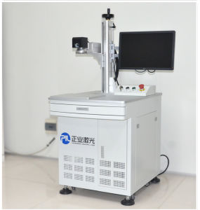 High Precision Fiber Laser Marking Machine on Metal Materials (MC-20) pictures & photos