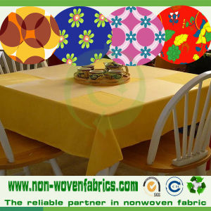 Printed Non Woven TNT Fabric for Table Cloth pictures & photos