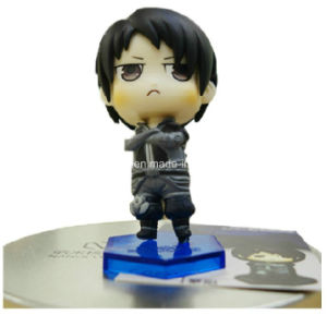 Custom Plastic Doll with Base (12 cm) pictures & photos