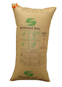Brown Kraft Paper Dunnage Bags for Container / Manufacturer pictures & photos
