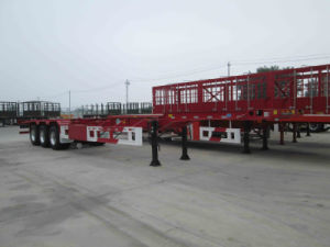 40FT Skeleton Semi Trailer / Skeletal Trailer with 3 Axle pictures & photos