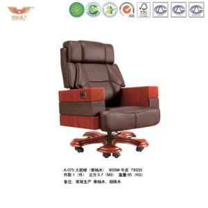 Office Luxury Wooden Executive Chair (A-075) pictures & photos