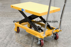 300/500 Kg Mini Scissor Lift Table SPA300/500 with Max. Height 900mm (Customizable) pictures & photos